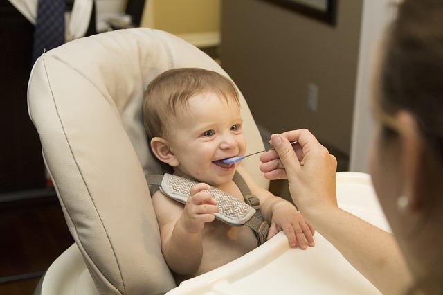 repas bébé 8 mois