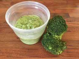 recette bébé brocolis