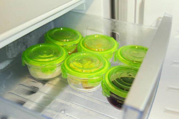 petit pot en verre 240 ml frigo
